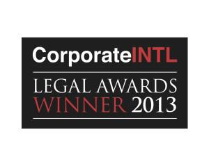 Legal Awards 2013 logo