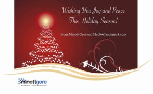 happy holidays from Flat Fee Trademark